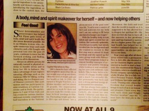 A body, mind and spirit makeover for herself-- and now helping others